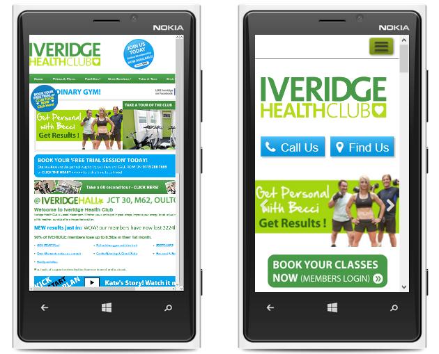 Iveridge Health Club Leeds