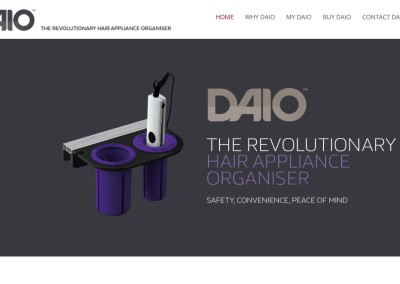 The DAIO – Hair Appliance Organiser