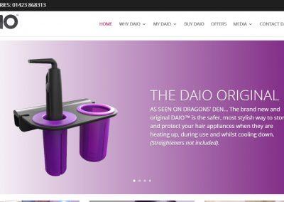 The DAIO – Hair Appliance Organiser